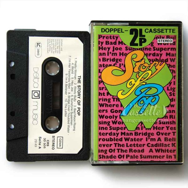 Băng Cassette Story of pop
