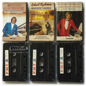 Album 3 băng cassette RICHARL CLAYDERMAN