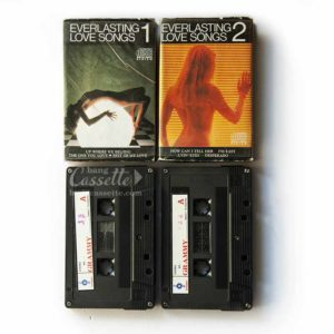 Album 2 băng cassette EVERLASTING LOVE SONGS 1, EVERLASTING LOVE SONGS 2