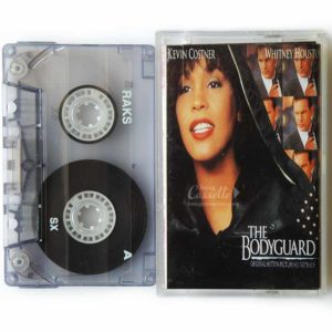 Băng cassette The Bodyguard, Kevin Costner, Whitney Houston