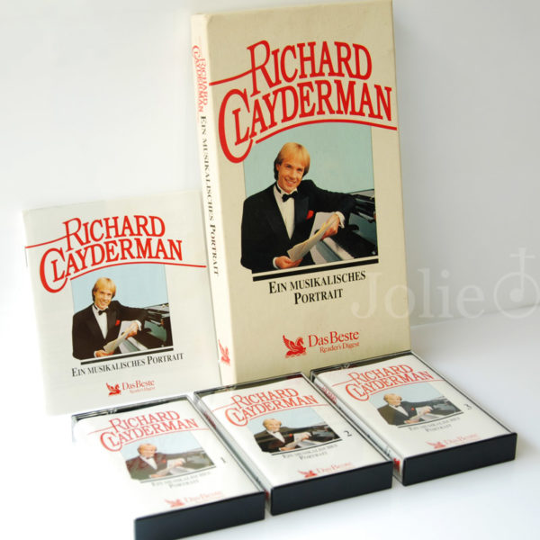 Cassette Richard Clayderman Ein Musikalisches Portrait