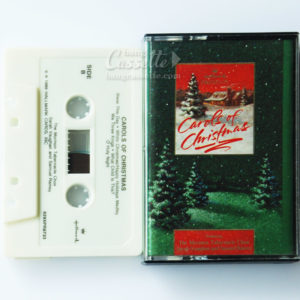 BĂNG CASSETTE CAROLS OF CHRISTMAS