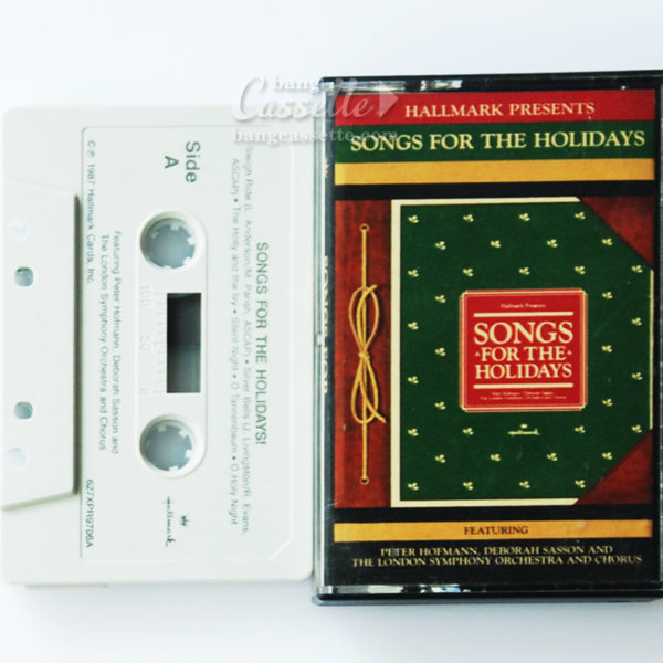 BĂNG CASSETTE SONGS FOR THE HOLIDAYS