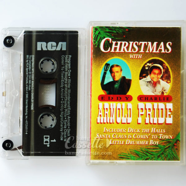 BĂNG CASSETTE CHRISTMAS WITH EDDY ARNOLD & CHARLEY PRIDE