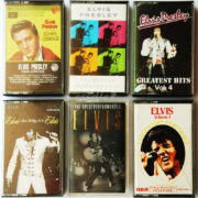 BỘ 6 BĂNG CASSETTE ELVIS PRESLEY: KING CREOLE, THE MILLION DOLLAR QUARTET, GREATEST HITS VOL. 4, THAT'S THE WAY IT IS, THE GREAT PERFORMANCES, A LEGENDARY PERFORMER - VOLUME 1