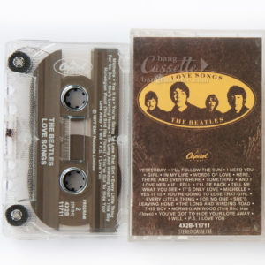 BĂNG CASSETTE THE BEATLES, LOVE SONGS