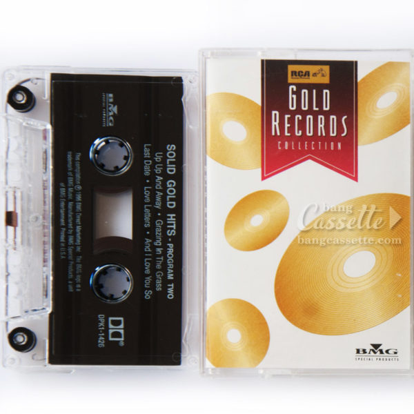 BĂNG CASSETTE GOLD RECORDS COLLECTION