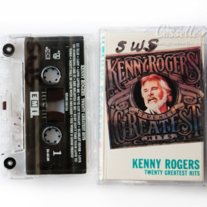 BĂNG CASSETTE KENNY ROGERS, TWENTY GREATEST HITS