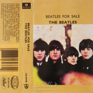 BĂNG CASSETTE THE BEATLES, BEATLES FOR SALE