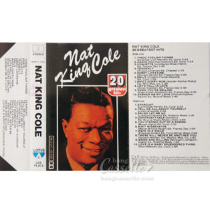 BĂNG CASSETTE NAT KING COLE, 20 GREATEST HITS