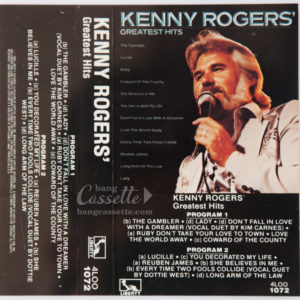 BĂNG CASSETTE KENNY ROGERS, GREATEST HITS