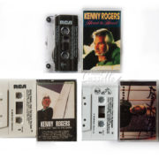 BỘ 3 BĂNG CASSETTE KENNY ROGERS: HEART TO HEART, EYES THAT SEE IN THE DARK, I PREFER THE MOONLIGHT
