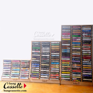 ke cassette, cassette tape shelf 90