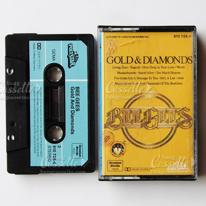 bang cassette bee gees gold & diamond