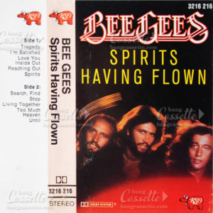 bee gees pirits having flown cassette tape
