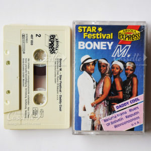 boney m star festival cassette tape
