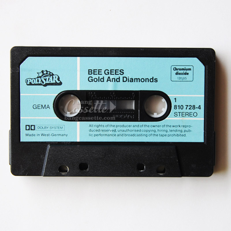 cassette tape mc bee gees,