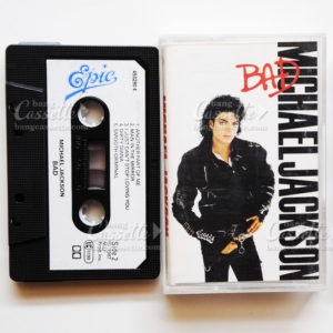 michael jackson bad cassette tape mc