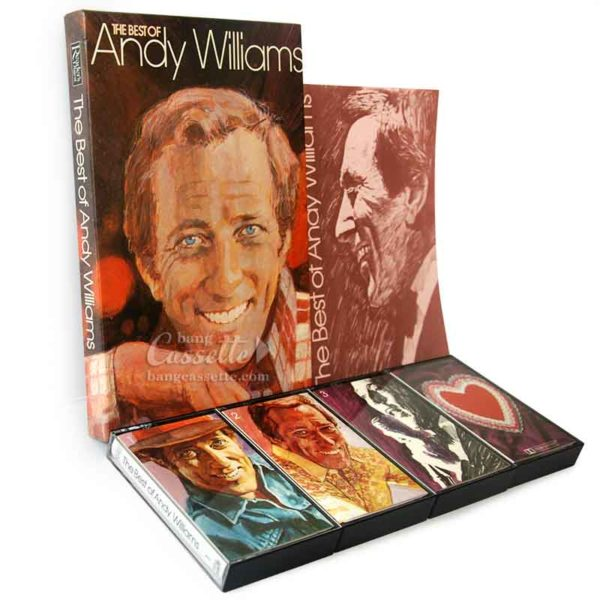 Băng cassette Andy Williams bộ 4 băng, The Best Of Andy Williams