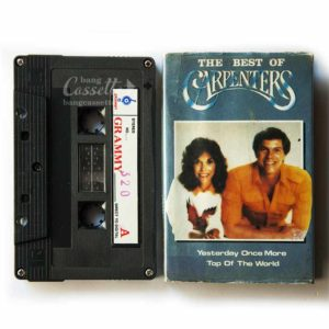 Băng cassette THE BEST OF CARPENTERS