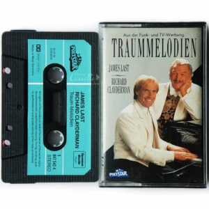 Băng cassette TRAUMMELODIEN, RICHARD CLAYDERMAN, JAMES LAST