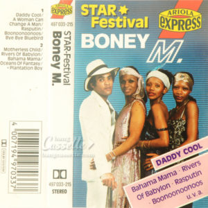 BĂNG CASSETTE BONEY M. ‎– STAR FESTIVAL - DADDY COOL