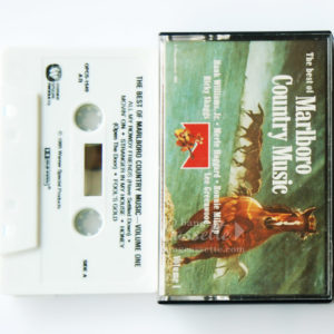 BĂNG CASSETTE THE BEST OF MARLBORO COUNTRY MUSIC VOLUME I