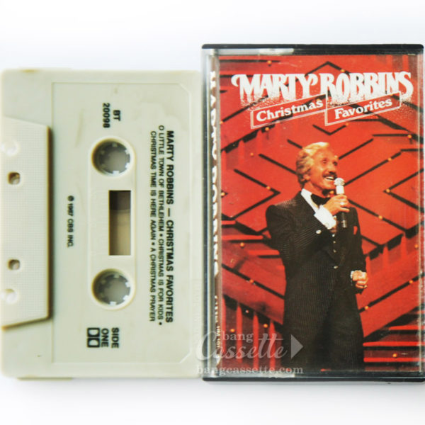 BĂNG CASSETTE MARTY ROBBINS ‎– CHRISTMAS FAVORITES
