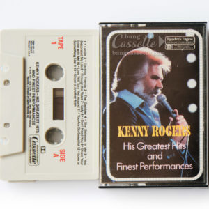 BĂNG CASSETTE KENNY ROGERS, HIS GREATEST HITS AND FINEST PERFORMANCES