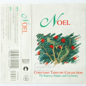 BĂNG CASSETTE THE REGENCY SINGERS AND ORCHESTRA, NOEL