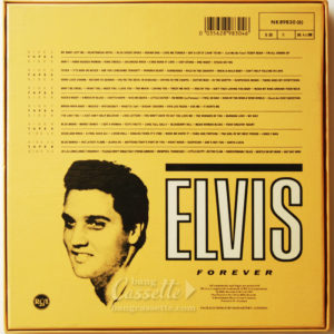 BỘ 6 BĂNG CASSETTE ELVIS PRESLEY, ELVIS FOREVER, 96 HITS OF THE KING