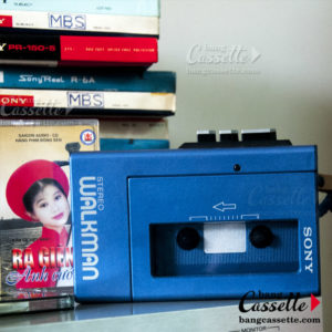 sony walkman stereo cassette-player wm-4