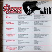 the shadows collection cassettes tape, the shadows cassettes tape list