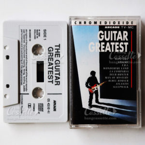 gguitar greatest, cassette tape