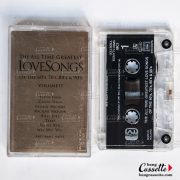The all time greatest love songs of the 60's 70's & 80s, cassette tape